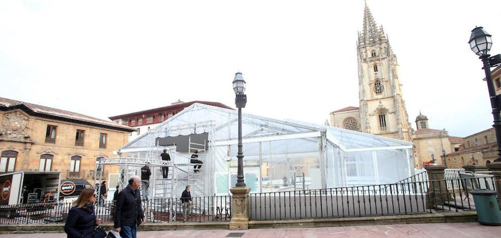 La pista de hielo regresará en Navidad a la plaza de la Catedral