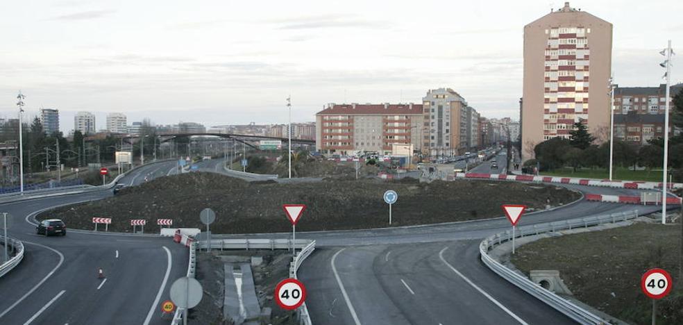 A las nueve de esta noche se corta un carril de salida de Gijón por la avenida de Portugal