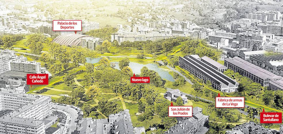 El Ayuntamiento de Oviedo asegura la viabilidad del proyecto para el bulevar de Santullano