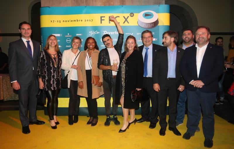 Las imágenes de la fiesta de inauguración del FICX