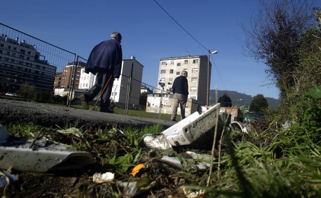 Ratas y basura en La Tenderina