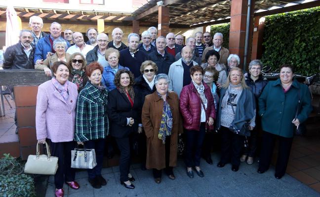 Cita de amigos del Centro Sindical de El Llano