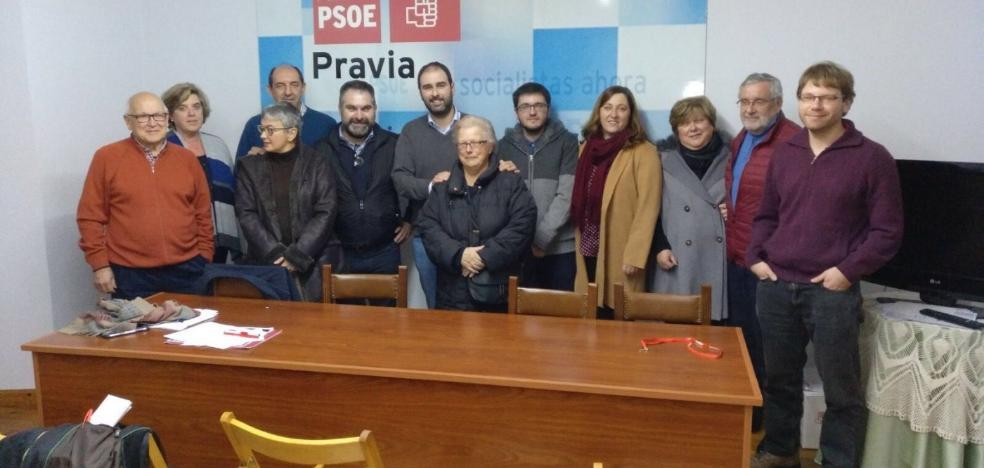 David Álvarez, reelegido como secretario general del PSOE de Pravia