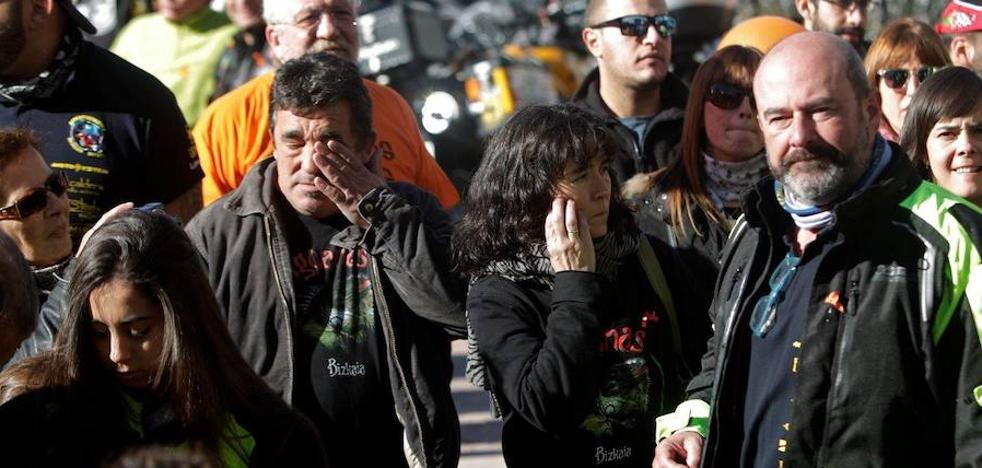 Recuerdo a las víctimas en accidentes de tráfico