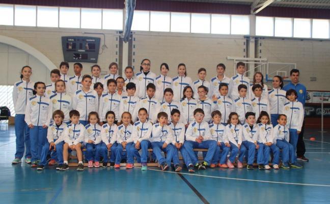 La escuela del Club Atletismo Occidente cuenta con 55 atletas