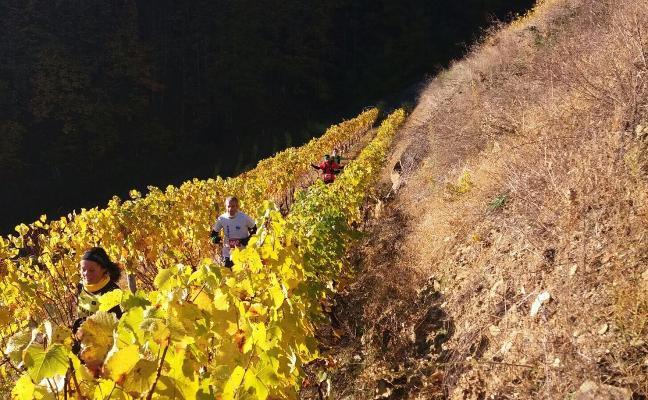 Itziar Méndez y Jesús Álvarez ganan el trail Tierras Pésicas