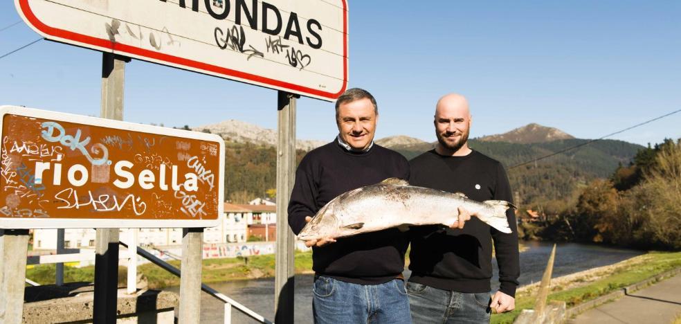 Recupera su salmón siete meses después