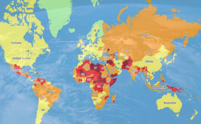 ¿Sabes cuáles son los países más peligrosos del mundo para viajar?