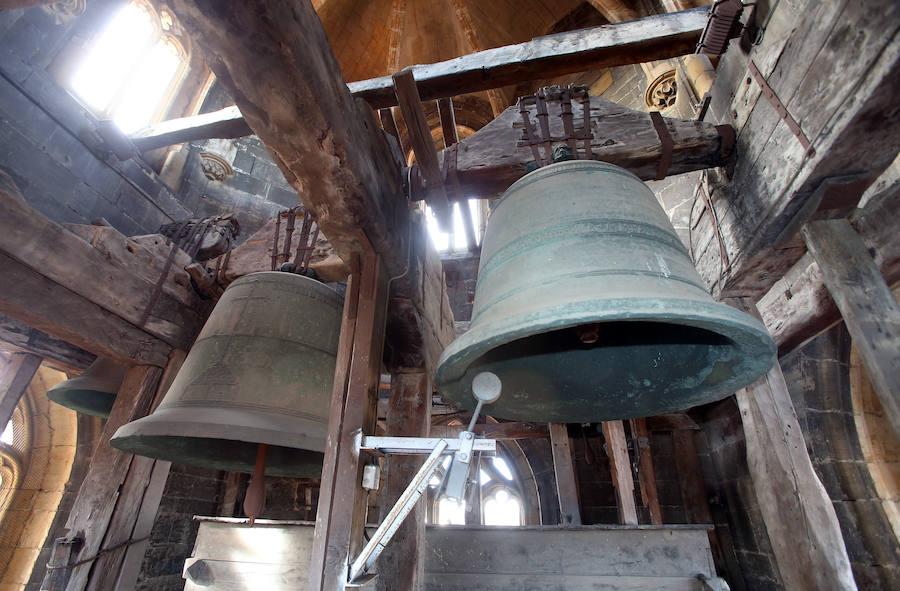 La 'Wanda' de la Catedral de Oviedo, una campana con mucha historia