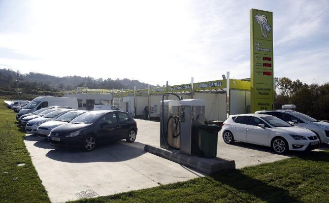 El propietario de la estación de servicio de Ullaga legalizará el aparcamiento y el restaurante