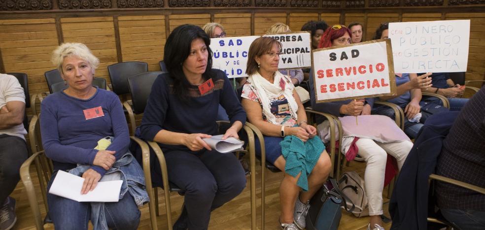 Xixón Sí Puede pla ntea crear una nueva empresa municipal de ayuda a domicilio