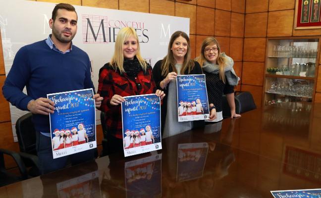 Mieres organiza el 30 de diciembre una fiesta de Fin de Año infantil