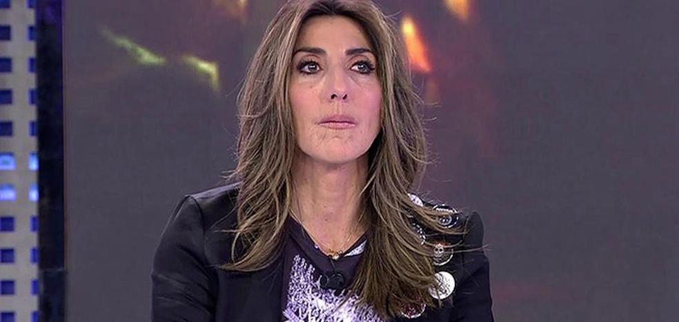 Paz Padilla se derrumba en directo al recordar a Chiquito de la Calzada