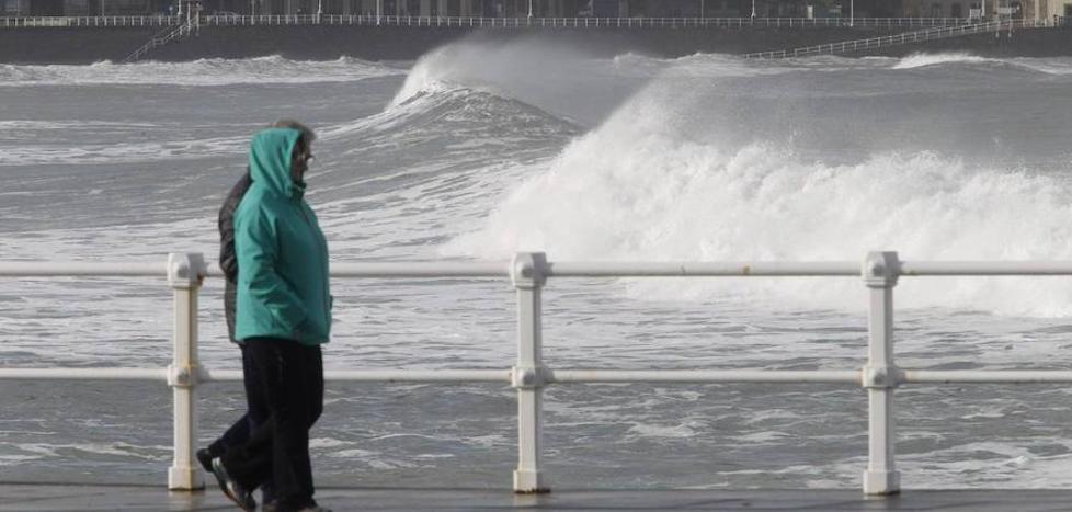Asturias, en aviso por vientos de hasta 110 kilómetros por hora
