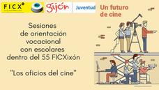 """Dentro del 55 FICXIXÓN, varios cientos de chicos y chicas se acercarán a""""Los oficios del cine"""""""