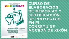 """Curso """"Elaboración de memorias y justificación de proyectos"""" en el Conseyu de Mocedá de Xixón"""