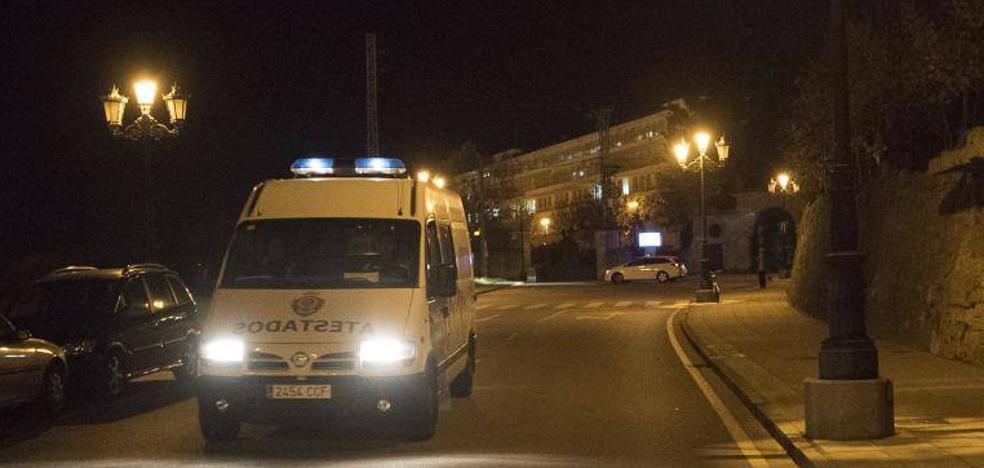Herido un hombre de 86 años tras ser atropellado en Oviedo