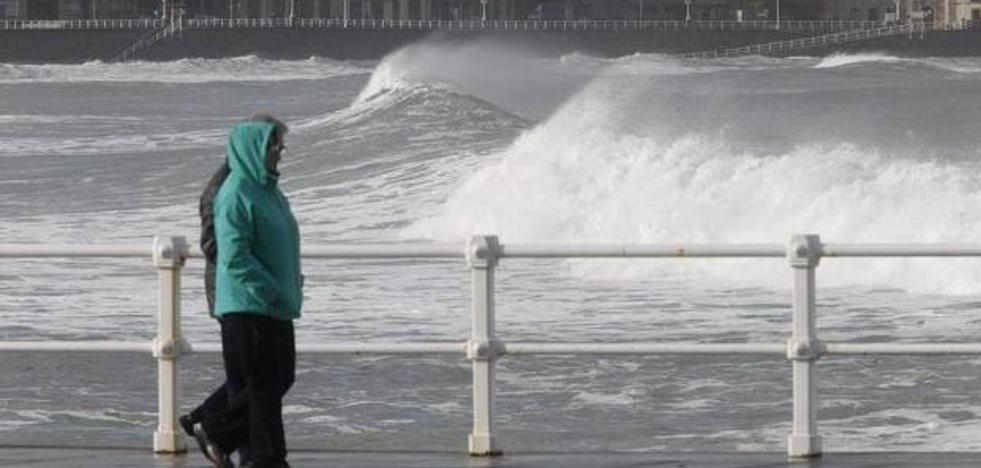 Asturias en alerta por fuertes vientos