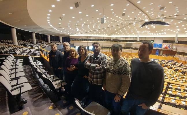 Los intoxicados por mercurio exigen en Bruselas una mejor atención médica