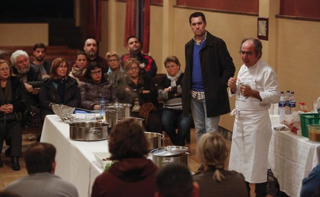«El pote tiene entidad propia», reivindica Campoviejo en Turón