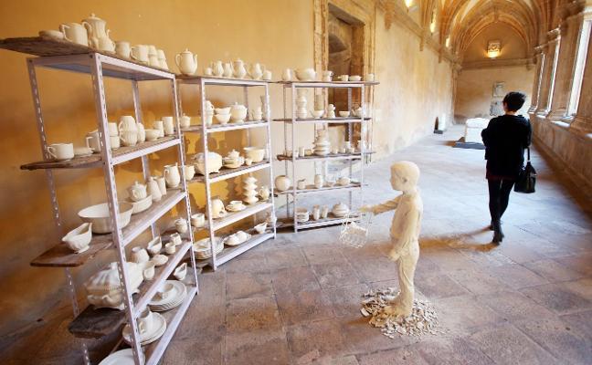 Las ruinas de San Claudio hechas arte