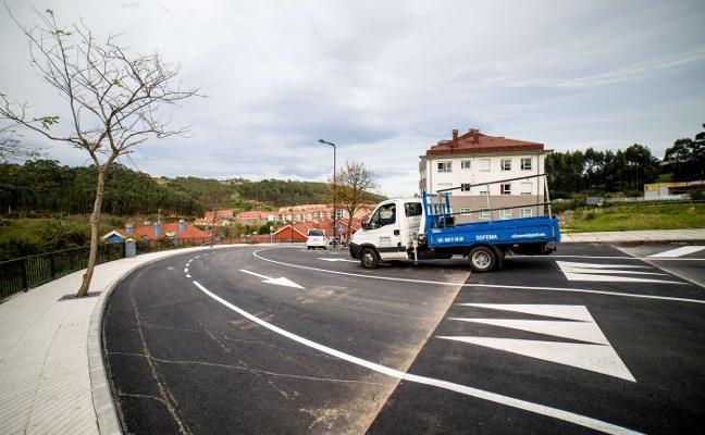 Las obras de la ronda oeste de Ribadesella concluyen con un incremento de 11.000 euros
