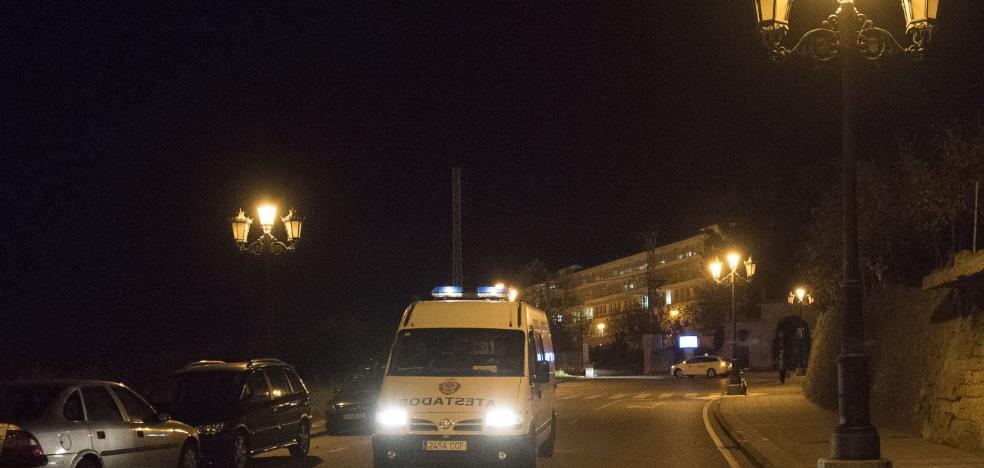 Atropellan a un hombe al lado del hospital Monte Naranco
