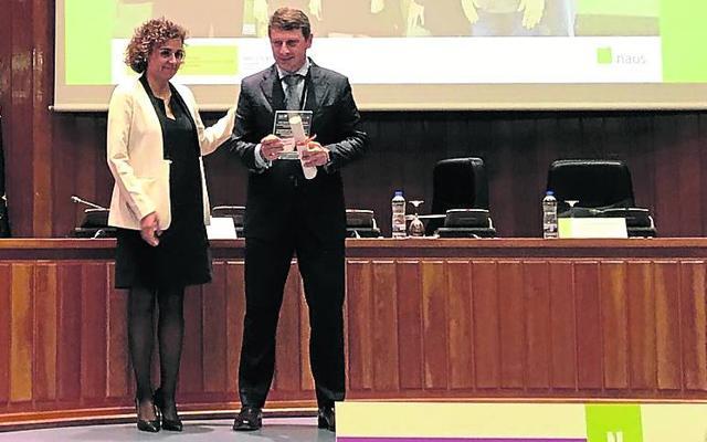 Tineo recoge el premio Naos 2016