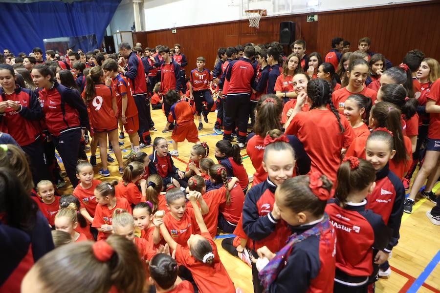 Presentación de las secciones deportivas del Grupo Covadonga
