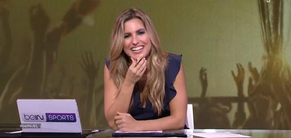 La 'pillada' en directo a una presentadora de Bein Sports