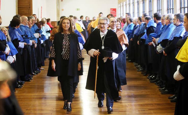 La Universidad de Oviedo festeja Santa Catalina