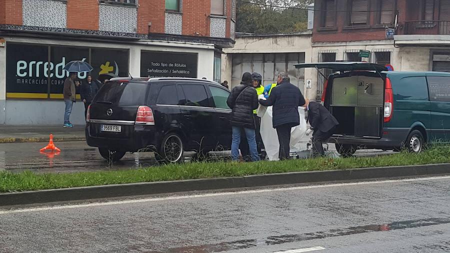 Fallece un hombre apuñalado en la avenida de Gijón de Avilés