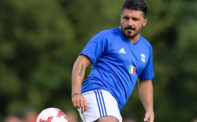 Gattuso toma las riendas del Milan