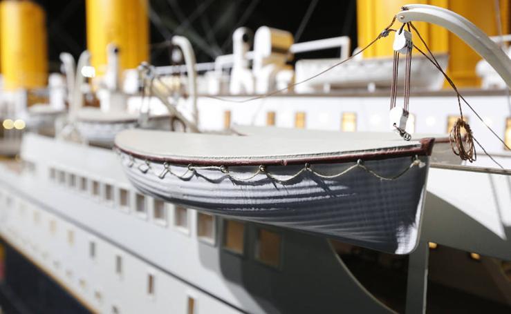 Los entresijos del mítico 'Titanic' recalan en Gijón