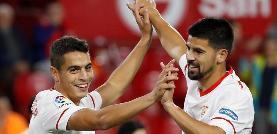 El Sevilla le brinda una goleada a Berizzo