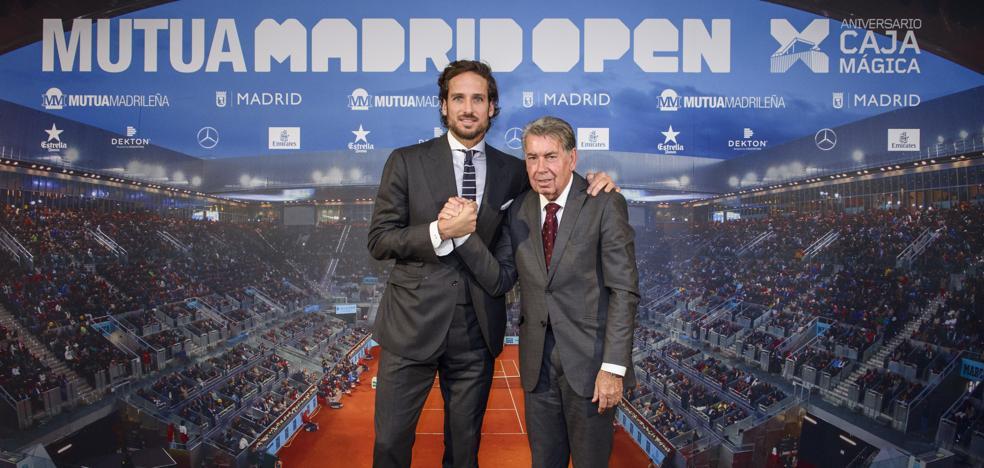 Feliciano López dirigirá el Mutua Madrid Open