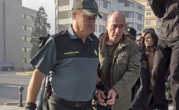 Félix Vidal, cuando fue detenido./EFE