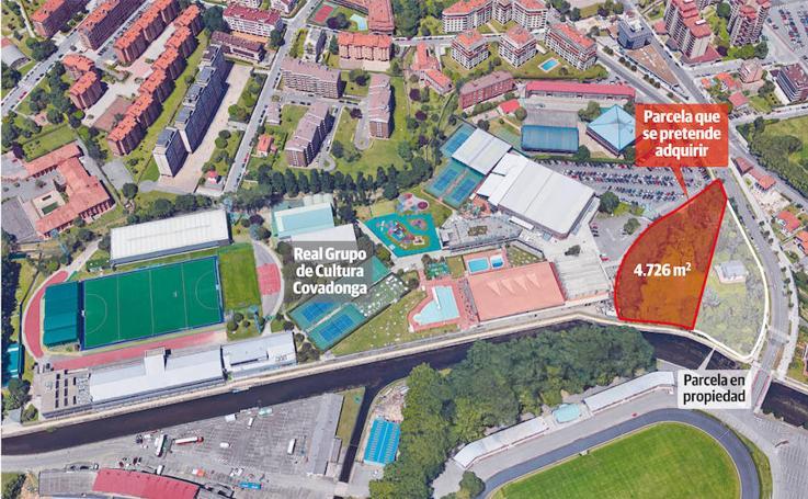La parcela, anexa a las instalaciones de Las Mestas, es de 4.726 metros cuadrados
