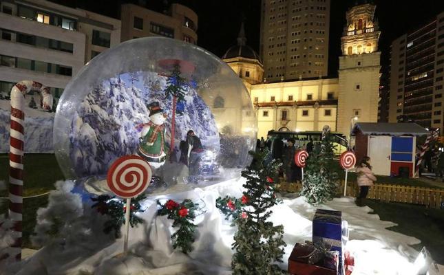 Unas navidades de más de un mes en Gijón