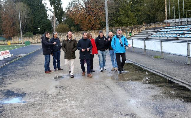Renovar la pista de atletismo de Lugones costará 400.000 euros