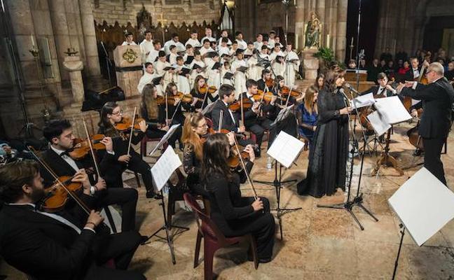 Concierto y misa en Covadonga en honor a la Santina