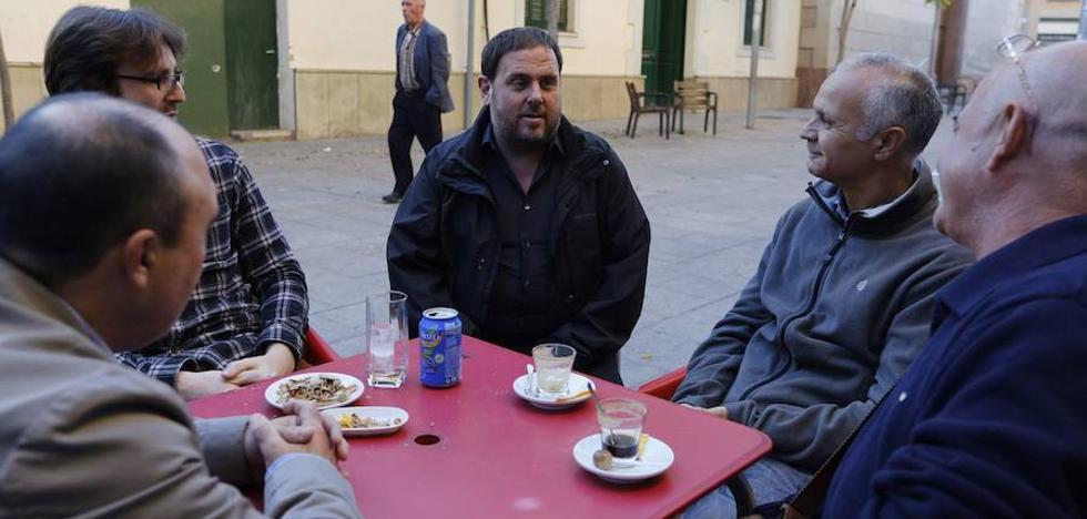El 'procés' se marchita en el feudo de Junqueras