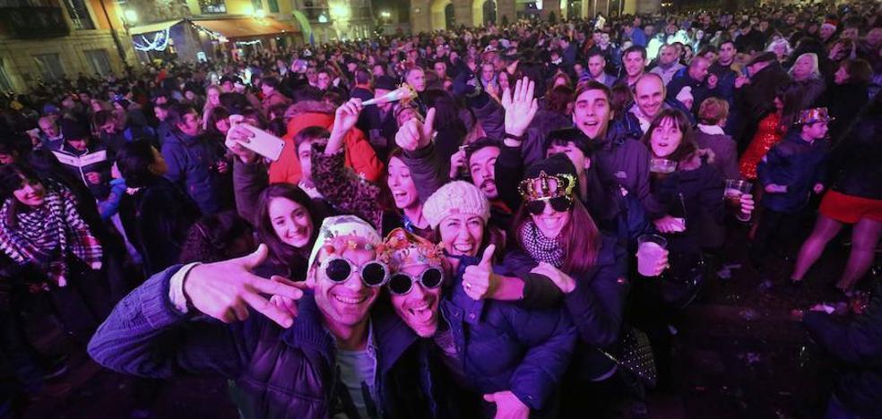 Inician una campaña para que haya fiesta de Nochevieja en la plaza Mayor de Gijón