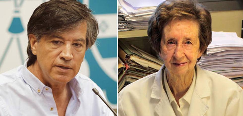 Carlos López-Otín y Margarita Salas, premiados por la revista 'Nature' por su tutoría de otros investigadores