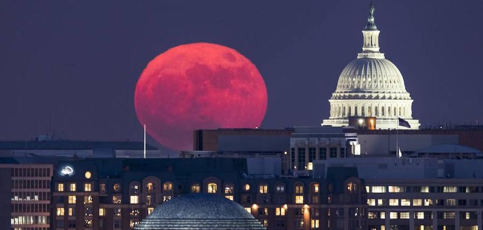 Las increíbles imágenes que dejó la superluna