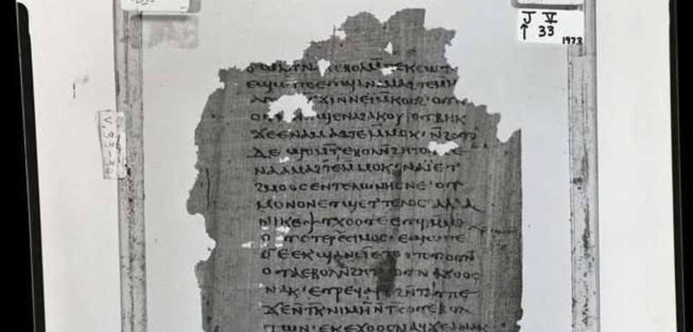 Hallan la primera copia original de las enseñanzas secretas de Jesús a su «hermano Santiago»