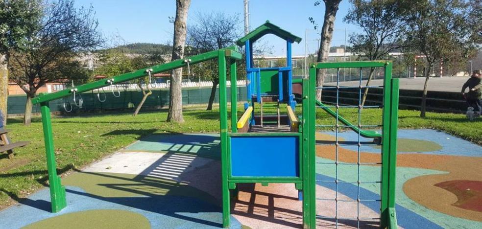 Mejoras en la zona infantil de La Marzaniella