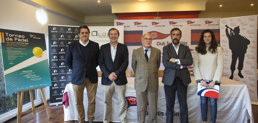 El Torneo de Navidad del Club Tenis Gijón abre sus inscripciones