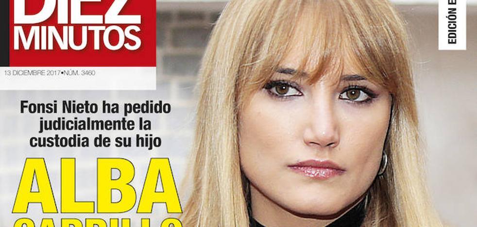 Alba Carrillo, indignada con Fonsi Nieto