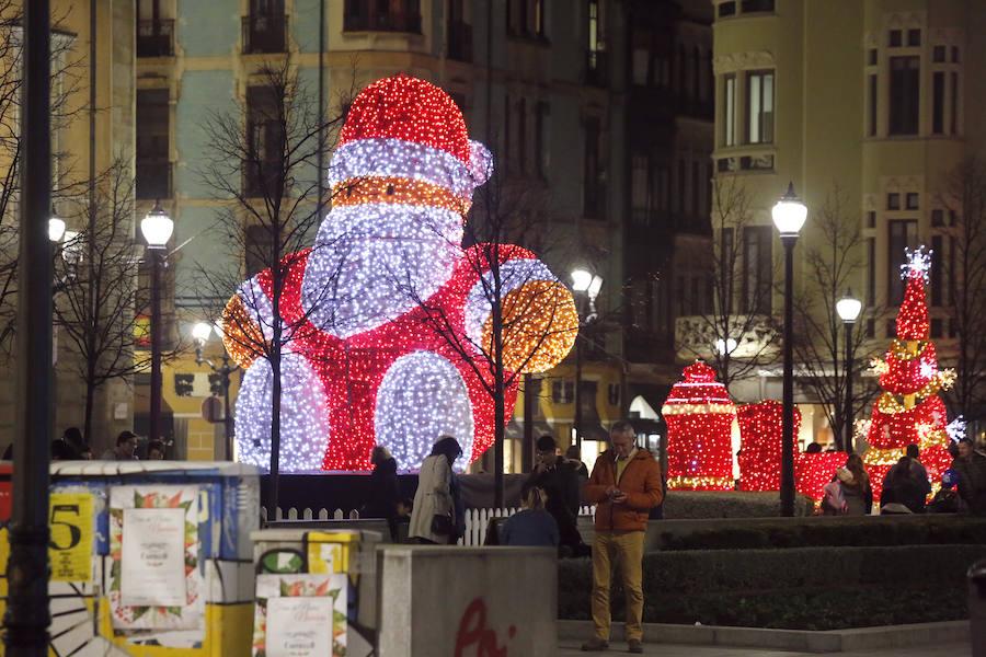 La Navidad en Gijón, a toda luz